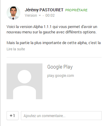 article Google+