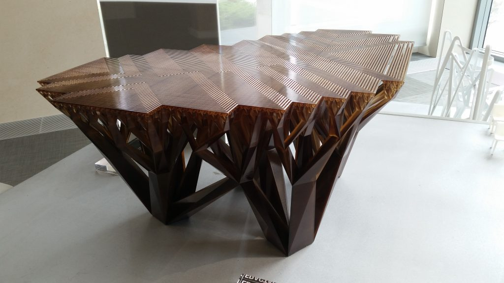 Table imprimée en 3D