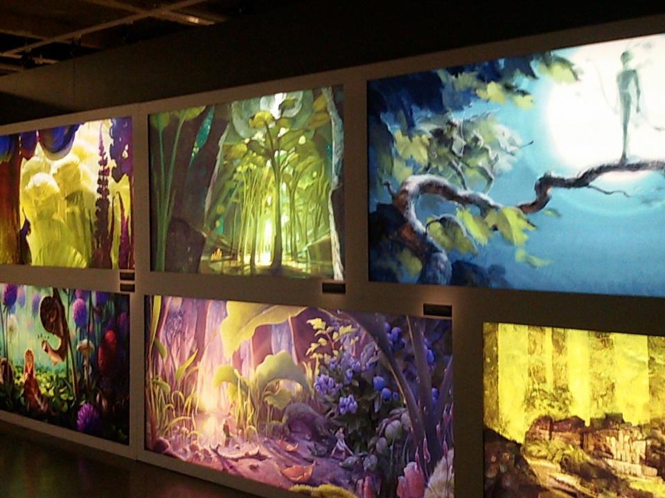 Galerie exposition blue sky