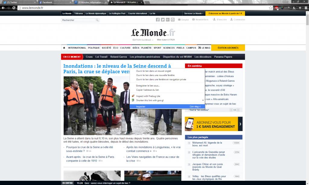 Le Monde Inspecté