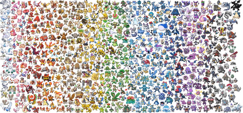 Liste des Pokémon