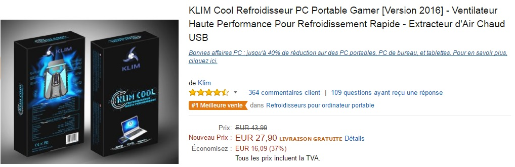 Promotion Klim Cool