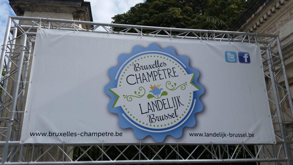 Affiche Bruxelles Champetre