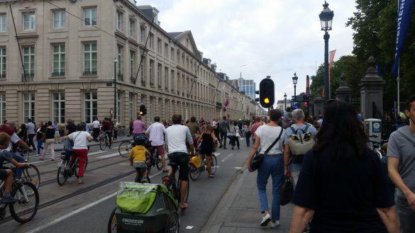 Bruxelles : Un Dimanche Sans Voiture