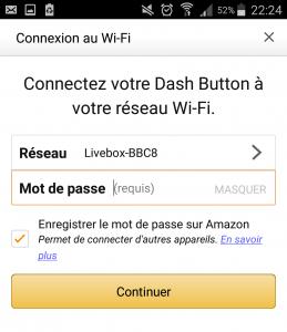 Connexion au Wi-Fi