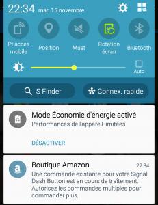 Notification Amazon