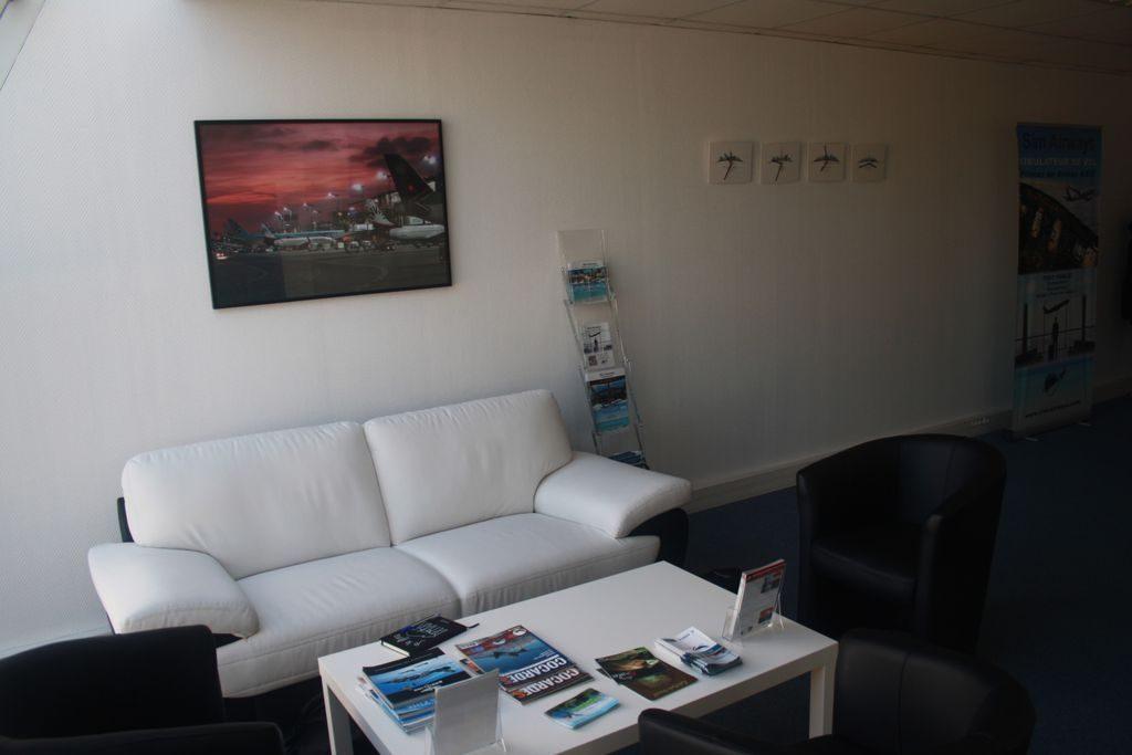 Salle d'accueil Sim Airways