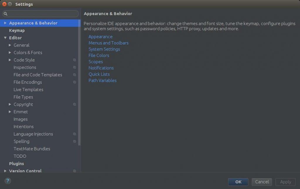 Setting PHPStorm