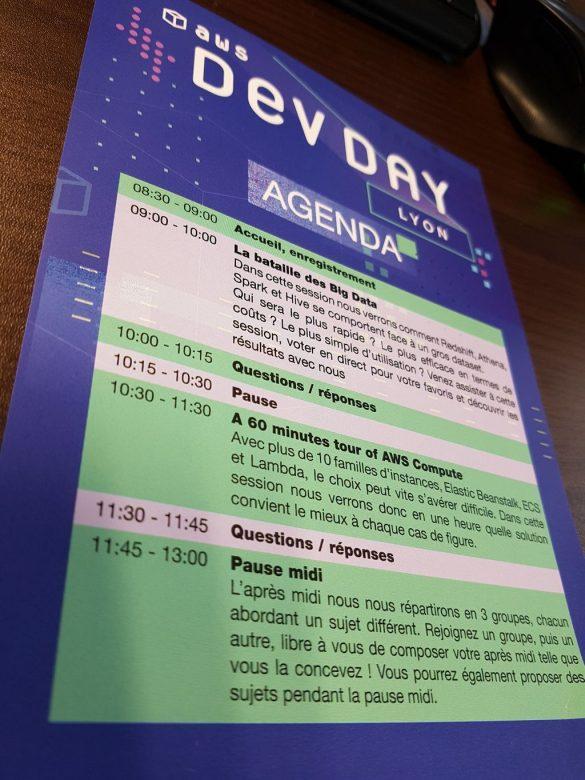 Planning Recto AWS DevDay