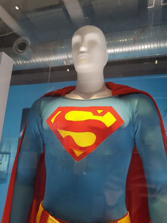 Costume améliorer porté par Christopher Reeve