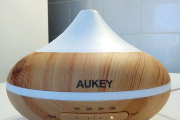 Diffuseur Aukey en marche