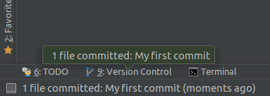 My First Commit
