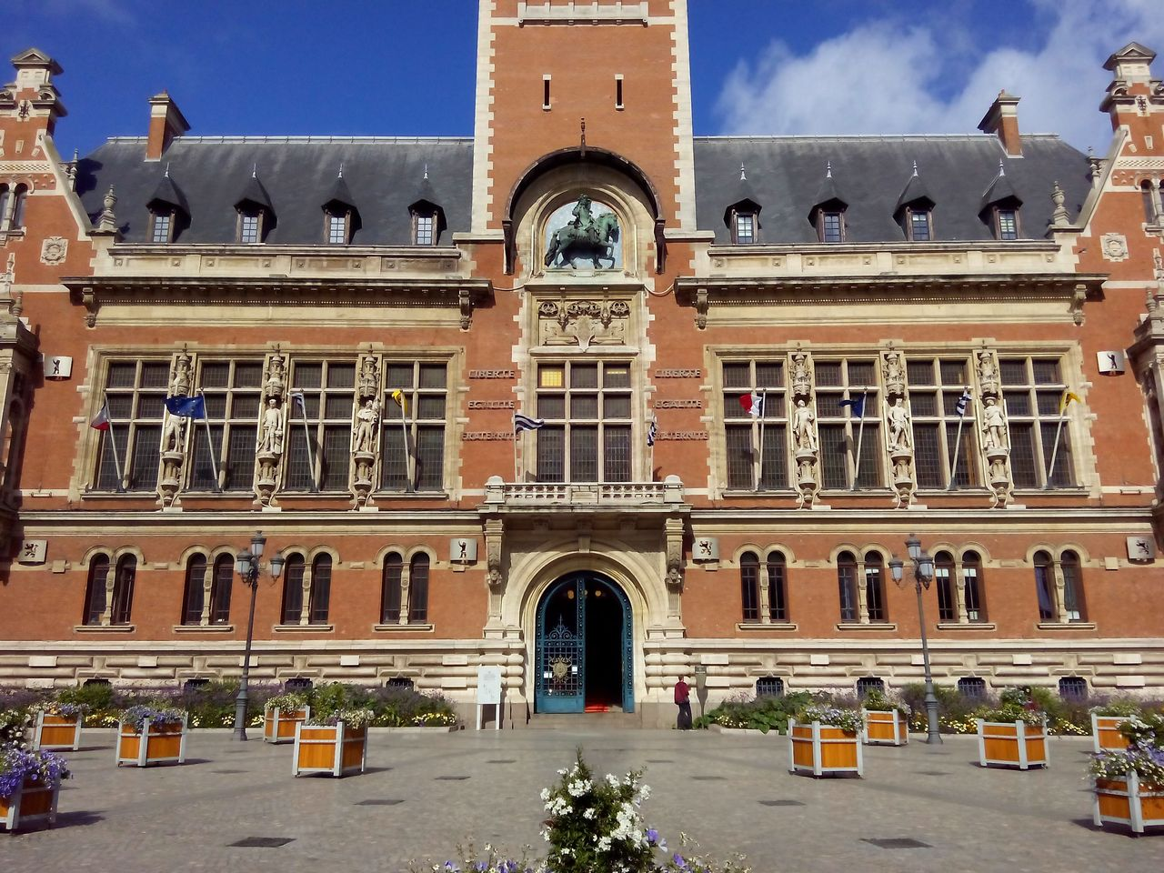 La mairie de Dunkerque