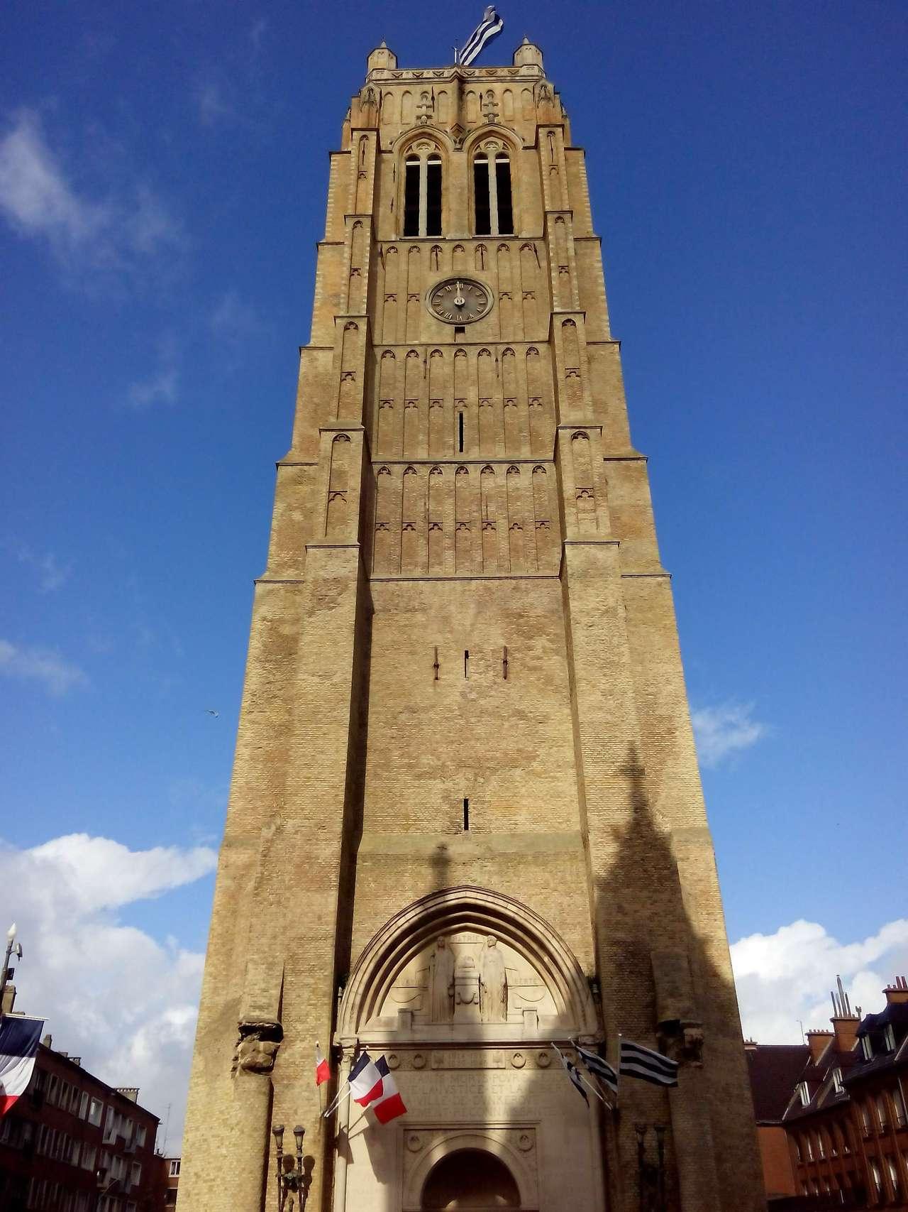 La tour du beffroi de Dunkerque