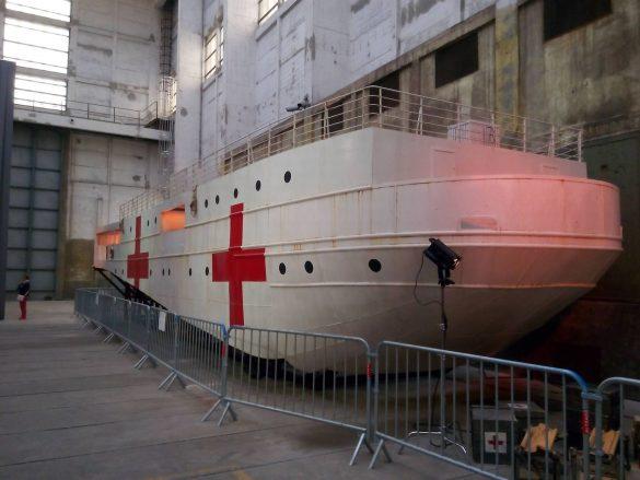 Le bateau hôpital