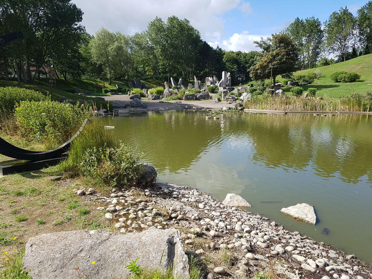 Le jardin des sculptures à Dunkerque