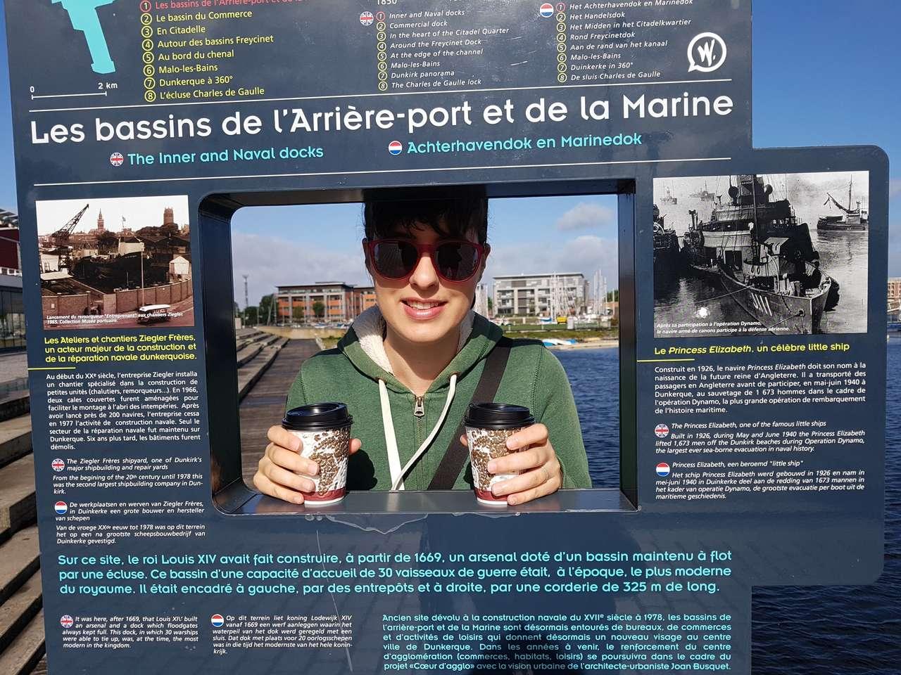 Les bassins de l'arrière-port et de la Marine de Dunkerque