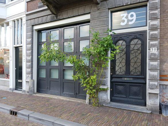 La facade d'un ancien logement hollandais