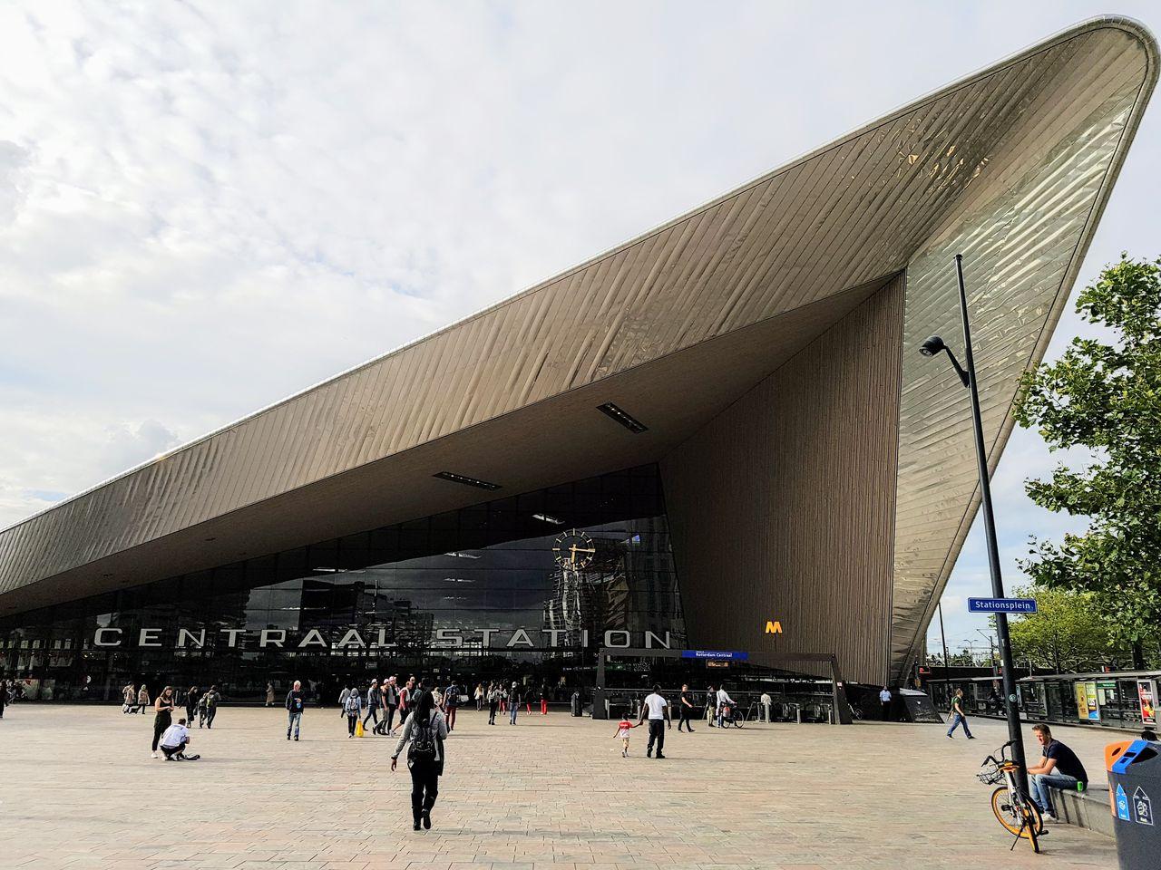 La gare Centraal de Rotterdam