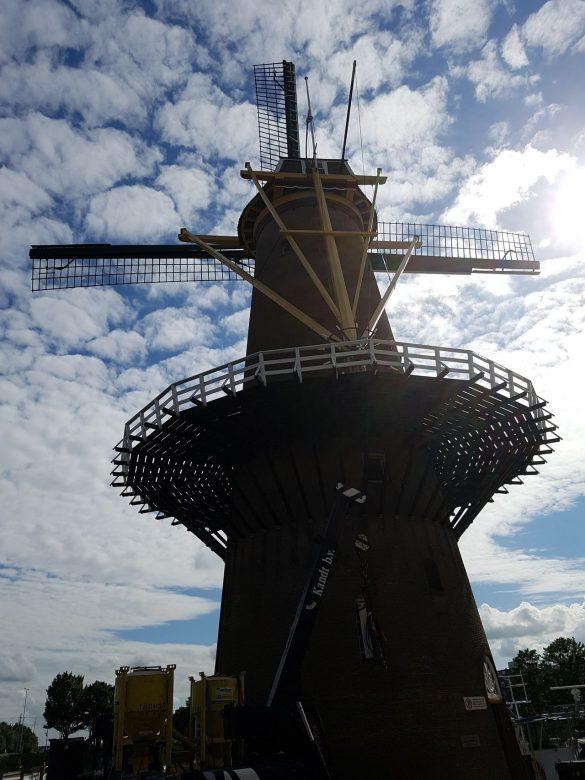 Le célèbre moulin de Rotterdam