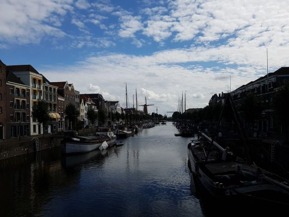 Le vieux port de Rotterdam