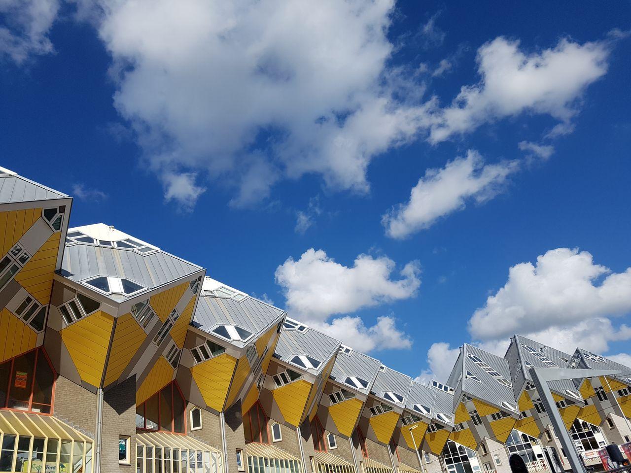 Les maisons cubiques à Rotterdam
