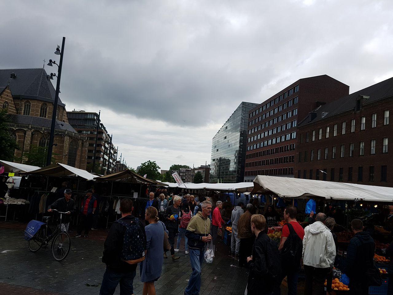 Marché exterieur Rotterdam