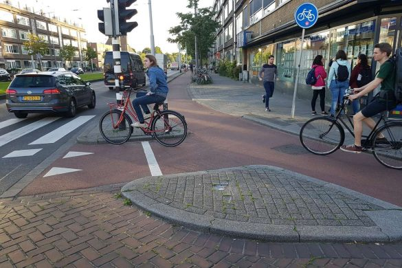 Piste cyclable Rotterdam
