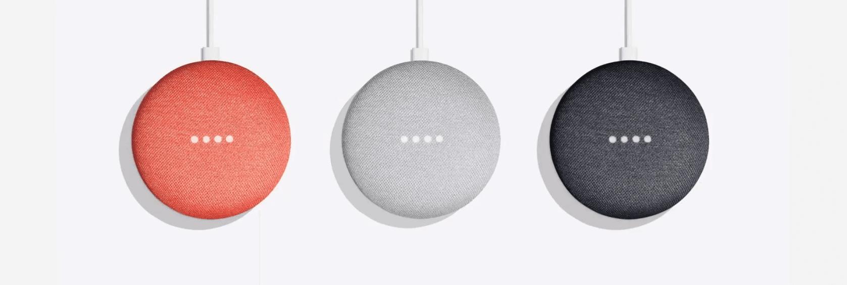 Google Home Mini Couleur