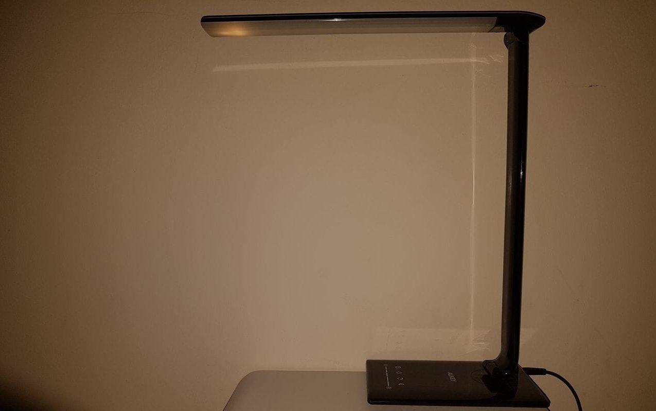 Le mode veilleuse de lampe Aukey