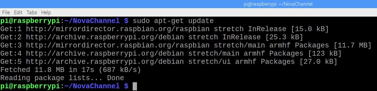 Apt-get Update Raspberry Pi