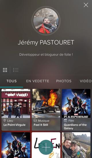 Galerie de mon profil Vero