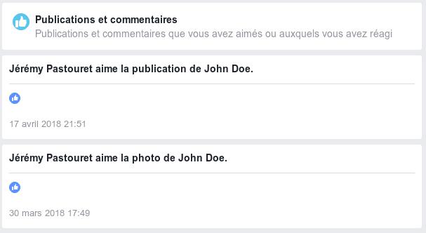 Like sur les publications-photos