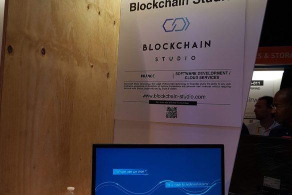 Blockchain Studio VivaTech
