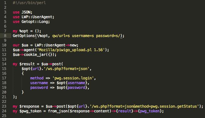 Une Api pour les développeurs avec Piwigo