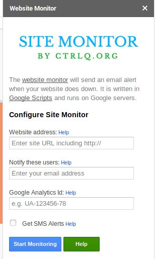 Panneau de configuration CTRLQ.org