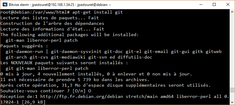 Installation de Git