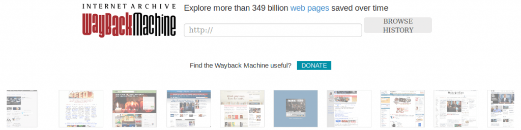 Internet Archive Machine