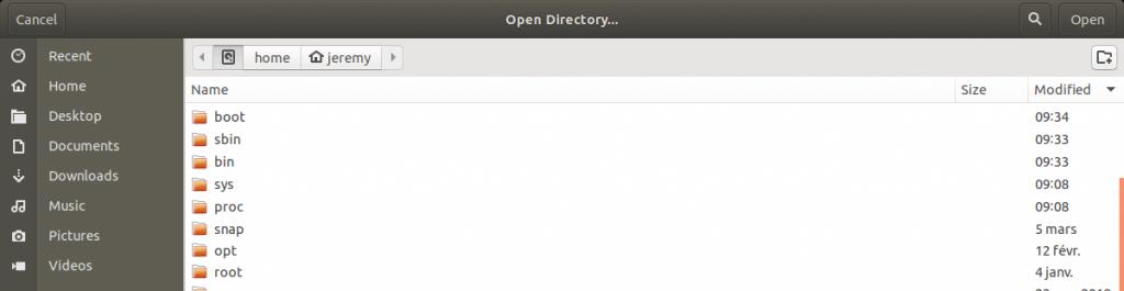 K4DirStat analyse de tout les fichiers sous Linux