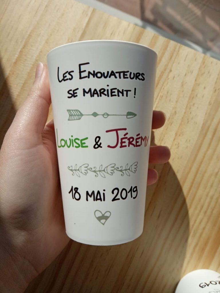 Cadeaux gobelets recyclables