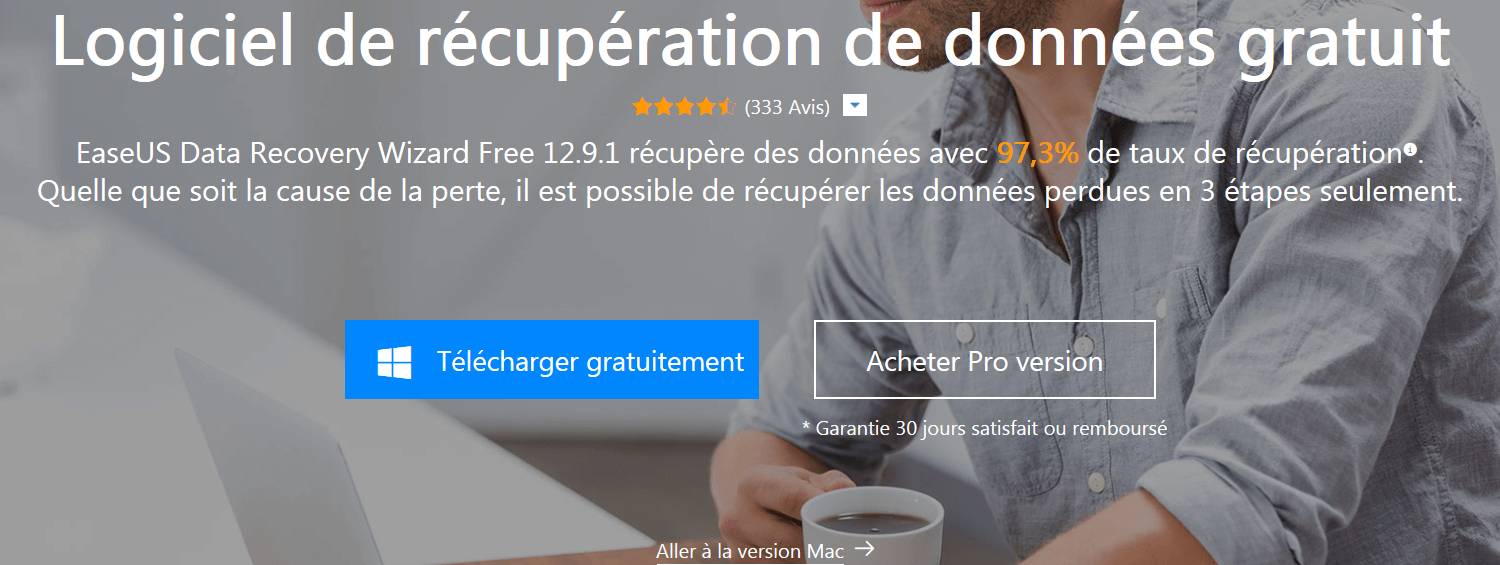 Télécharger EaseUS Data Recovery Wizard Free