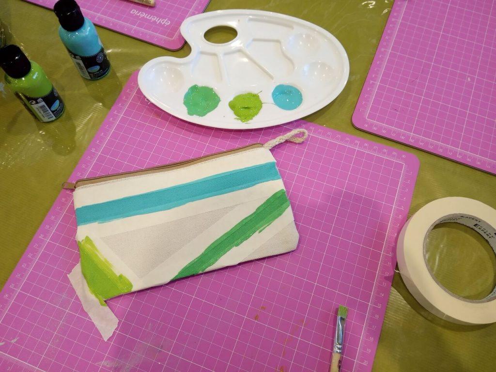 Atelier customisation textile