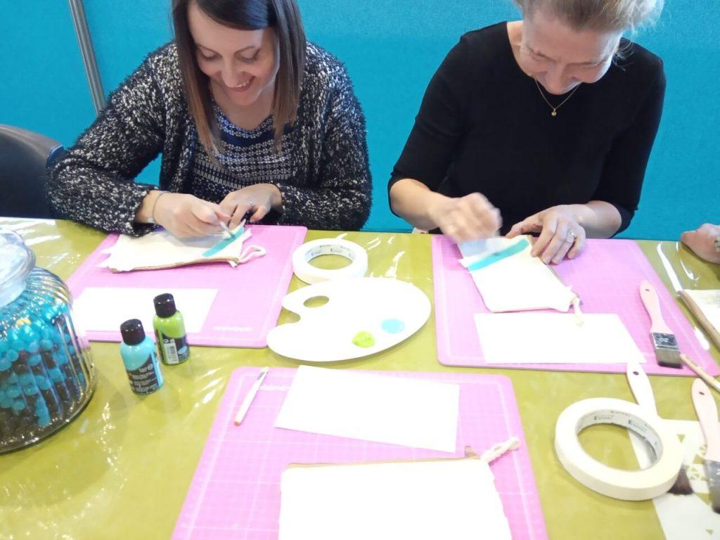Participantes customisation textile