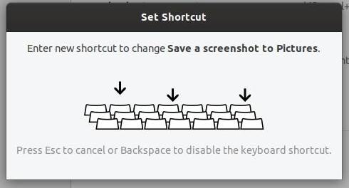 Désactiver un raccourci Ubuntu