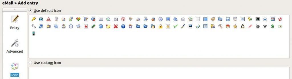 KeePassXC - importer des icônes