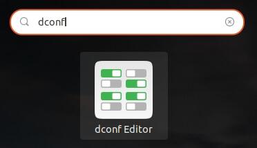 Utilisation de dconf-editor