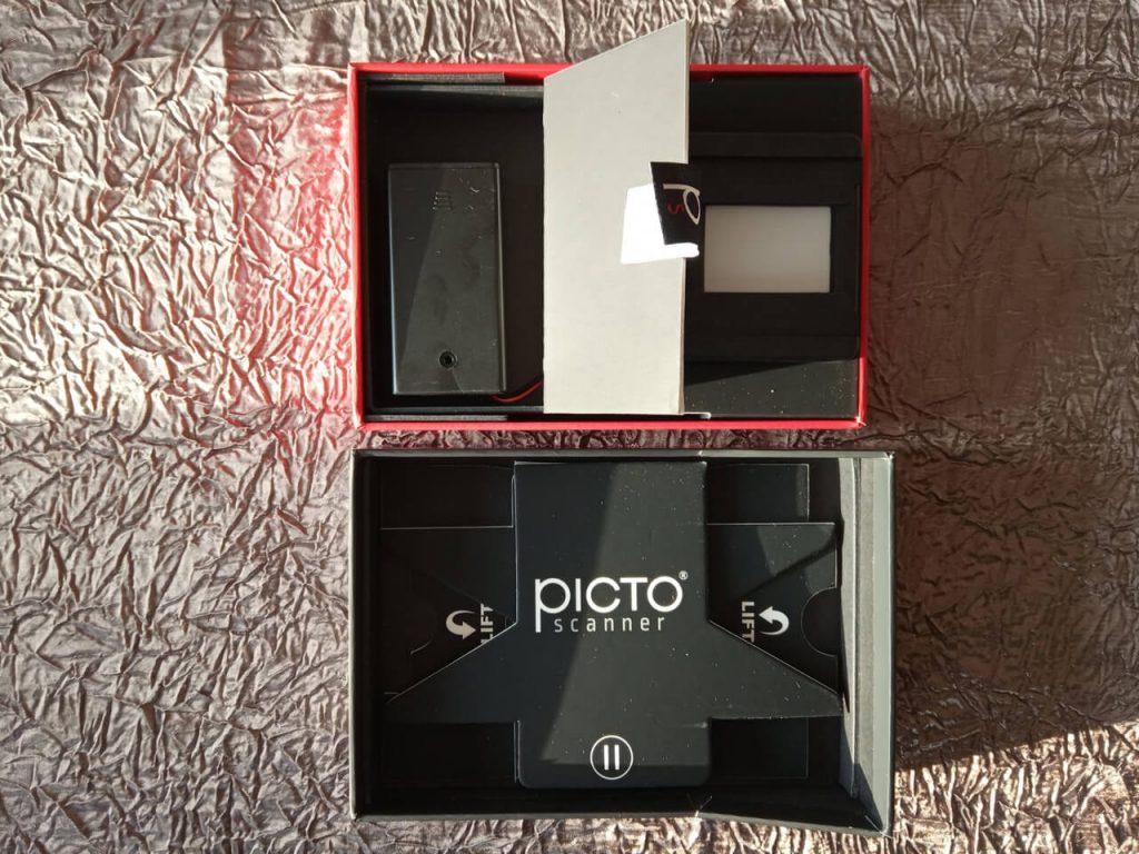 Composants du Pictoscanner