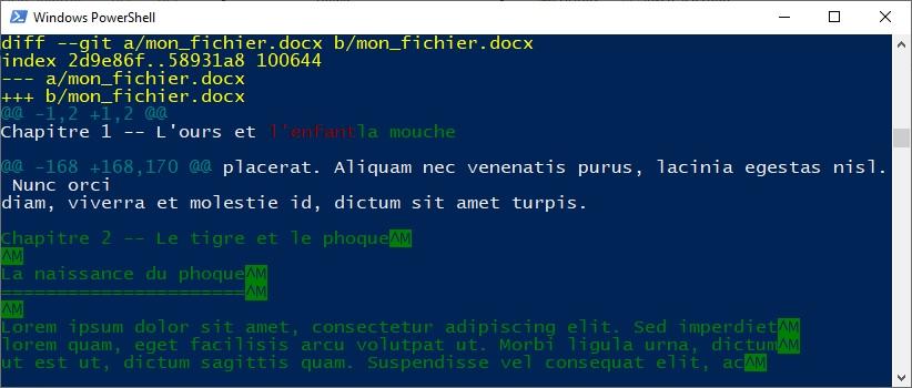 Exemple de modification d'un fichier Word avec Pandoc