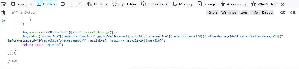 Copier-Coller Script DeleteMessageDiscord