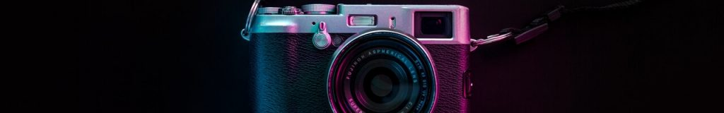 bannière caméra